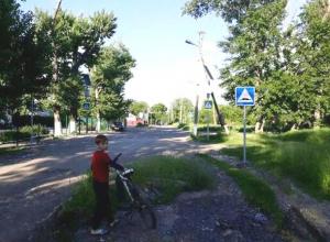 Лежачих «антиполицейских» обнаружили шахтинцы в поселке Красина