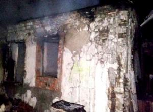 Двое шахтинцев погибли в ночном пожаре