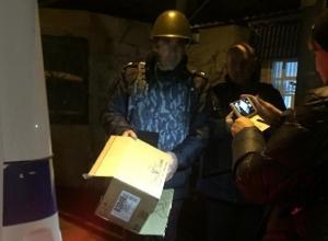 Из-за подозрительной коробки под Шахтами в Каменоломнях перекрыли улицу Крупской