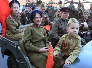 Пять дней продлятся в Шахтах торжества, посвященные Дню Победы