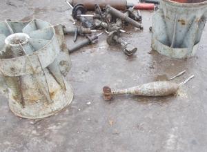 Боеприпасы времен Великой Отечественной войны обнаружили в металлоломе в Шахтах
