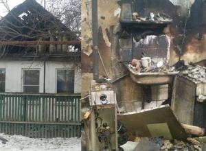 В Шахтах из горящего дома спасли 70-летнего мужчину
