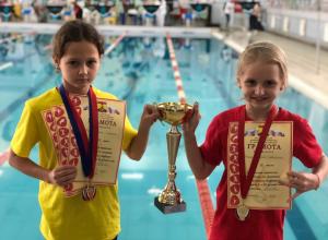 «Серебро» взяли шахтинские младшеклассники на открытом первенстве по плаванию «Олимпийские надежды»