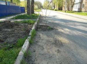 Порыва нет, но дорогу перекопали – жалуются жители улицы Шурфовая в Шахтах
