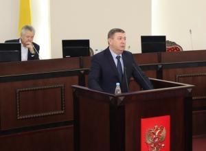 В Шахтах проходит пресс-конференция главы администрации Игоря Медведева