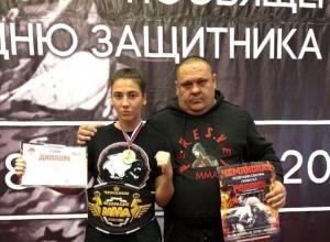 Шахтинка Виктория Склярова стала чемпионом России по смешанным боевым искусствам