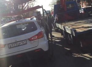 Шахтинец объявил войну незаконной эвакуации автомобилей