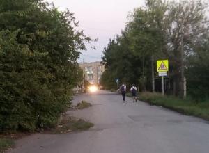 «Поход в школу превращается в экстрим» - возмущена шахтинка отсутствием тротуаров на улице Смидовича