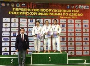 Шахтинская дзюдоистка стала «серебряным» призером первенства Вооруженных сил России