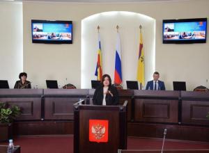 Депутаты признали работу Ирины Жуковой удовлетворительной