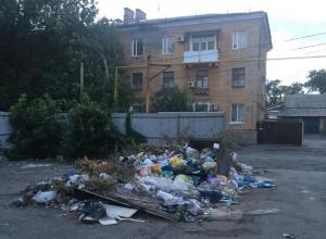 «Просто ад», - назвал шахтинец состояние мусорника в центре города
