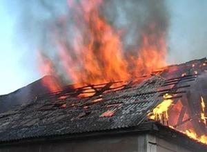 Погибли две женщины при пожаре в частном доме в Шахтах