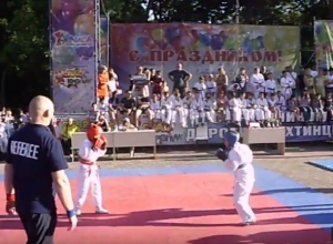 Спортивный праздник прошел в Александровском парке в Шахтах
