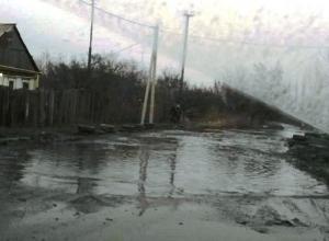 Без дорог, света и общественного транспорта живут шахтинцы в посёлке Рабочем
