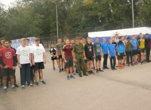 Шахтинские кадеты и спортсмены стали лучшими в областном пятиборье - беге со стрельбой