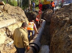 В Шахтах без воды остались около 35 тысяч жителей города