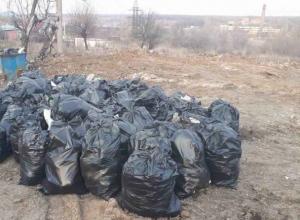 Около 740 тонн мусора вывезли с улицы Терновой в Шахтах