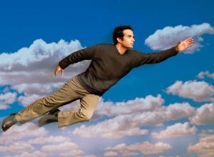Летать как птица хотел бы каждый пятый житель Шахт