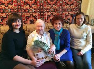 «Жизнь надо любить» - считает 90 летняя Екатерина Гайле