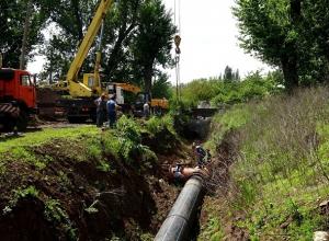 Из-за масштабных ремонтных работ в трех посёлках в Шахтах отключили воду