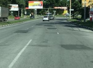 «Чудеса» дорожной разметки и «волшебные» знаки обнаружил шахтинец на дорогах города