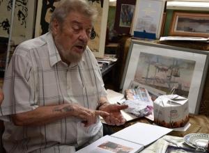 Шахтинскому художнику Владимиру Дикому исполнилось 80 лет