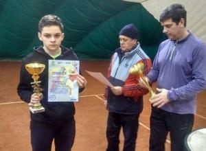 Сразу две победы одержали теннисисты из Шахт в Донской столице