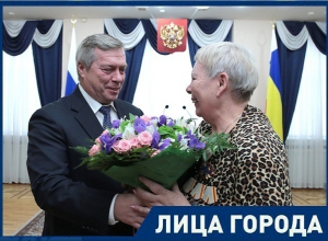 В честь Дня Героев Отечества 70-летняя шахтинка получила орден