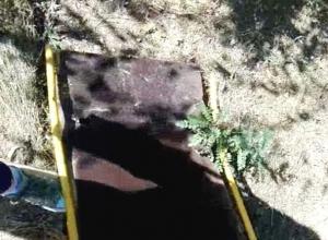 Аварийным состоянием детской площадки в поселке ХБК обеспокоены шахтинцы