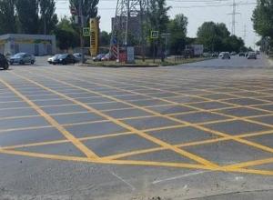 Шахтинские водители столкнулись с новой дорожной разметкой в столице Дона