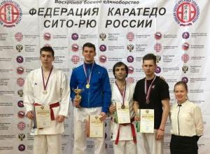Шахтинец Валерий Гучмазов стал призером чемпионат России по восточному боевому единоборству