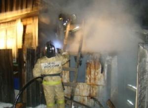 На месте пожара под Шахтами найден труп мужчины