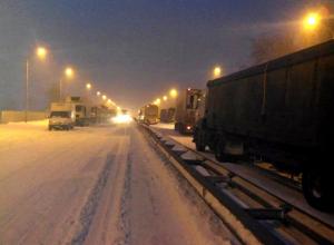 На трассе под Шахтами продолжает действовать ограничение на движение автобусов