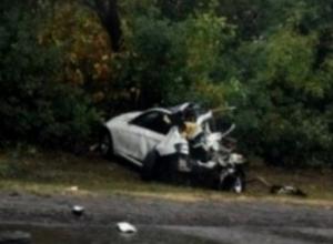 В страшном ДТП под Шахтами погиб 58-летнний водитель BMW