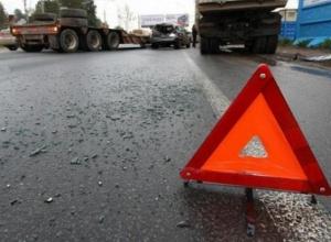 Недалеко от Шахт на трассе произошла массовая авария