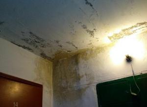 Квартиру шахтинской семьи заливает вода с крыши