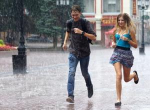 Дожди и грозы придут в Шахты в среду