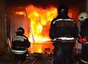 Жилой дом сгорел под Шахтами