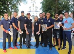 На открытом турнире по рукопашному бою шахтинский СК «Боец» завоевал 18 медалей