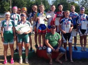 Шахтинские велосипедистки успешно выступили на первенствах России и ЮФО