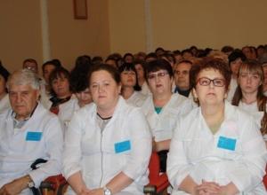 Шахтинских медиков поздравили с профессиональным праздником и вручили награды