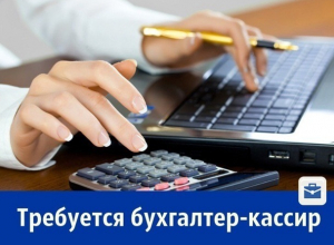 Требуется бухгалтер - кассир предприятия