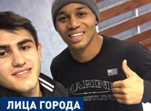 Шахтинкий борец победил американца на турнире в Санкт-Петербурге