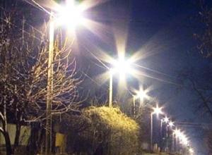 При строительстве сетей наружного освещения в Шахтах оплачивались работы, которые не проводились