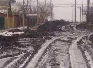 «Здесь на танках только ездить» - оценили городские дороги шахтинцы