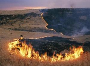 Малейшая искра может привести к пожару в Шахтах
