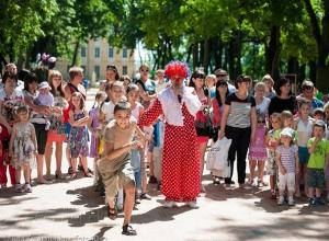В Шахтах в «День защиты детей» откроется  детская площадка и пройдут концерты