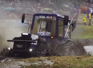 Рев моторов, свалка из тракторов и утопленные машины: чем запомнился  шахтинцам «Бизон Шоу – 2018»
