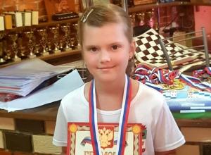 Шахтинка Анастасия Ляхова стала призером всероссийских соревнований по русским шашкам