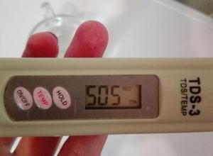 Шахтинский водоканал утверждает, что показаниям TDS-метра доверять не следует